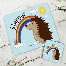 animals set placemats coasters