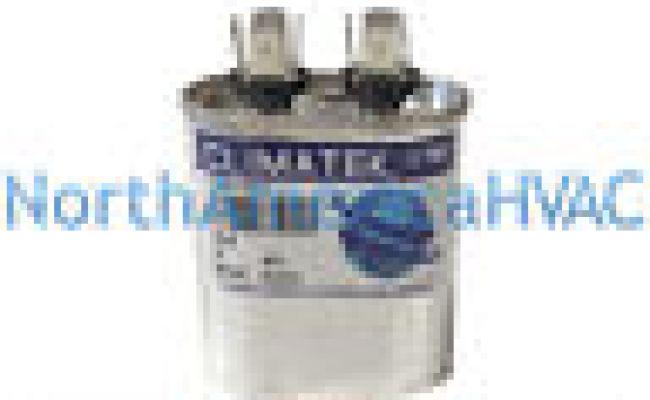 Climatek Motor Run Capacitor 5 Uf Mfd 440 Volt Oval Fits