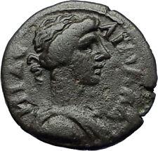 APOLLONIS in LYDIA 150AD Authentic Ancient Greek Coin Apollo Roman SENATE i71162