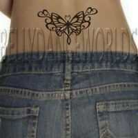 sexy tribal hearts tramp stamp