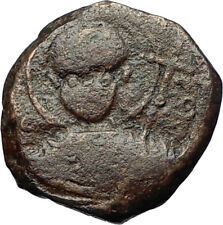 CRUSADERS of Antioch Tancred Ancient 1101AD Byzantine Time Coin St Peter i69679