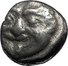 PARION in MYSIA Archaic Ancient 550BC Silver Greek Coin w GORGONEION Rare i67143