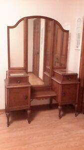 1930s Bedroom Furniture : 1930s, bedroom, furniture, Maple, Antique, Bedroom, (1900-1950)