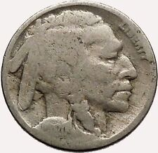 1920 BUFFALO NICKEL 5 Cents of United States of America USA Antique Coin i43589