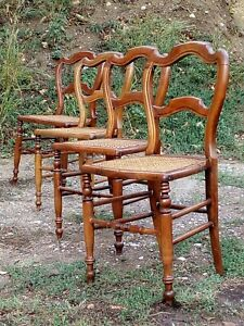 chaises cannees ebay