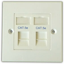 cat5e wiring diagram wall plate uk lewis dot steps buy ethernet cat 5e plugs, jacks and plates | ebay