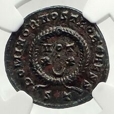CONSTANTINE II Jr Authentic Ancient 322AD Genuine Original Roman Coin NGC i76318