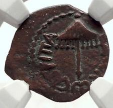 Herod AGRIPPA I JERUSALEM Biblical Claudius Time Ancient Greek Coin NGC i70926