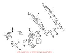 Rear Windshield Wiper Systems for Mercedes-Benz GLA250 for