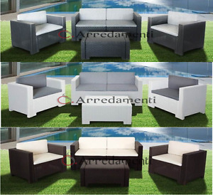 Vi proponiamo il nostro ampio assortimento di eleganti mobili da giardino, ad esempio set lounge, tavoli da giardino e isole in materiali resistenti alle. Arredamento Da Giardino Acquisti Online Su Ebay