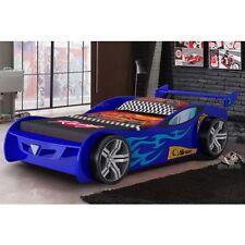 New Z1 3 0 Single Childrens Kids Boys Blue Car Bed Memory Foam Mattress