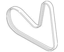 Genuine OEM Engine Belts, Pulleys & Brackets for