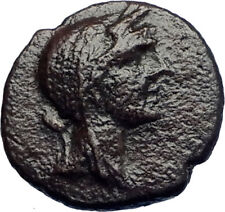 MANAINON in SICILY Authentic Ancient 175BC Greek Coin w DEMETER & TORCHES i73356