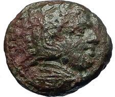 ALEXANDER III the Great 325BC Macedonia Ancient Greek Coin HERCULES CLUB i68669