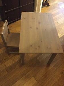 tables et chaises ikea pour enfant ebay