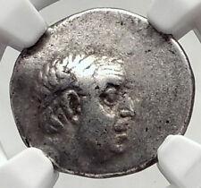 Ariobarzanes I Philoromaios Cappadocia Kingdom 85BC Silver Greek Coin NGC i72826