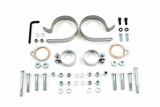 V-Twin Manufacturing Motorcycle Exhaust Clamps, Flanges