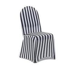 Black Chair Covers Ebay Walmart Adirondack Chairs Plastic White Striped Slipcovers 6 Pack Stretch Spandex And Slip