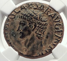 CLAUDIUS Authentic Ancient 41AD Genuine Original Roman Coin MINERVA NGC i71723