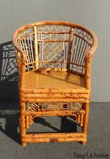 bamboo chairs tommy bahama high boy beach chair bjs antique furniture ebay vintage chinoiserie brighton pavilion style tortoise arm