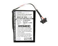 750mAh Battery FOR Mitac Mio Moov 200 Mio Moov 200u,P/N