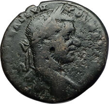 MACRINUS Authentic Ancient 217AD Nicopolis ad Istrum Roman Coin w NEMESIS i71087