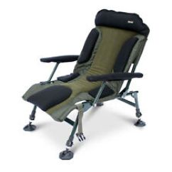 Fishing Chair No Arms Desk Footrest Chairs Bed Ebay Abode Carp Camping Folding Easy Arm Lo Armchair Sport