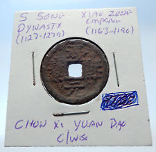 1163AD CHINESE Southern Song Dynasty Genuine XIAO ZONG Cash Coin of CHINA i72535