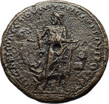 GORDIAN III Authentic Ancient Nicopolis ad Istrum Roman Coin ASCLEPIUS i70812