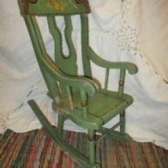 Antique Chairs Ebay Cheap High For Babies Green Americana