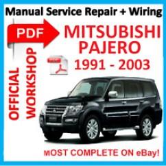 Mitsubishi Pajero 1994 Wiring Diagrams Uss Constitution Diagram Buy Car Service & Repair Manuals   Ebay