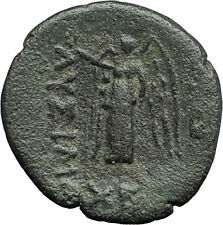 LYSIMACHEIA of Lysimachos Thrace 309BC Ancient Greek Coin HERCULES & NIKE i61895