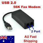 2 Ports USB External Dial up Voice Fax Data Modem 56k Conexant Chip Win7 8 Linux