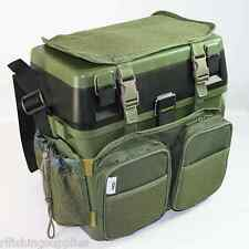 fishing roving chair revolving lowest price ngt tackle seat boxes ebay green box harness rucksack converter combo