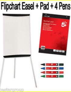 flip chart whiteboard on easel stand with white flipchart paper pada fc also ebay rh