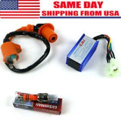 Gy6 150cc Wiring Diagram 4ch Amp Scooter Parts Accessories Ebay High Performance Racing Ignition Coil Spark Plug Ac Cdi 50cc 125cc