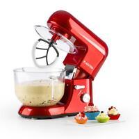 [OCCASION] Klarstein Bella Rossa 2G Robot de cuisine 1200W Bol en verre 2,5/5,2l
