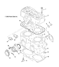 Snowmobile Air Intake & Fuel Systems for Polaris Indy 500