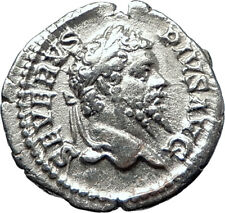 SEPTIMIUS SEVERUS 193AD Silver Authentic  Ancient Roman Coin Felicitas i70189