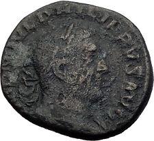 PHILIP I the ARAB 249AD Rome Sestertius Authentic Ancient Roman Coin i64024