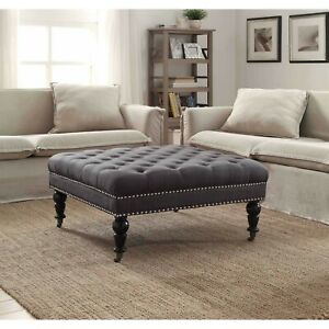 oversized ottomans for sale in stock