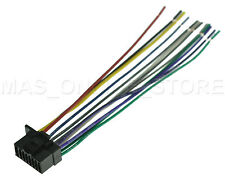 sony mex n5000bt radio wiring diagram 02 ford windstar car audio video wire harnesses ebay harness for mexn5000bt pays today ships