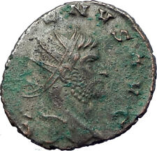 GALLIENUS son of Valerian I 258AD Ancient Roman Coin SALUS Health i73467