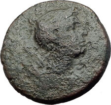 Amphipolis in Macedonia 148BC Authentic Ancient Greek Coin ARTEMIS BULL i63767