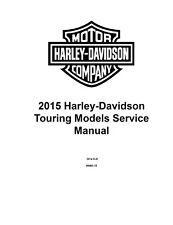 Harley-Davidson 2015 Repair Motorcycle Manuals and