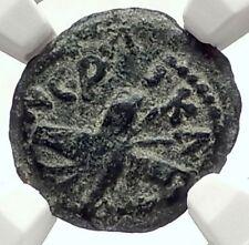 BRITANNICUS NERO Antonius Felix Jerusalem Ancient Roman CLAUDIUS Coin NGC i70986
