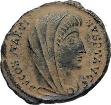 Divus Saint CONSTANTINE I the GREAT 347AD Authentic Ancient Roman Coin i67019