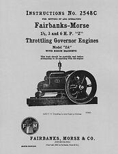 Fairbanks Morse Engine Stationary Engine Manuals & Books