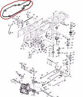 Castel Garden Transmission Gearbox Courroie D'entraînement