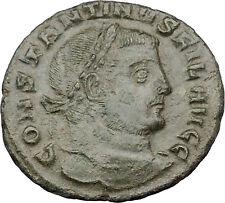 Constantine I The Great 309AD Ancient Roman Coin Very rare FIL Genius i32125